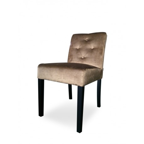 YORK SIDECHAIR LOWBACK & SAFIRA FABRIC & 4 KNOTS