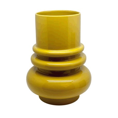 VASE WITH RINGS S