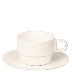 1 CAPPUCCINO CUP & 1 SAUCER,MATT FINISH
