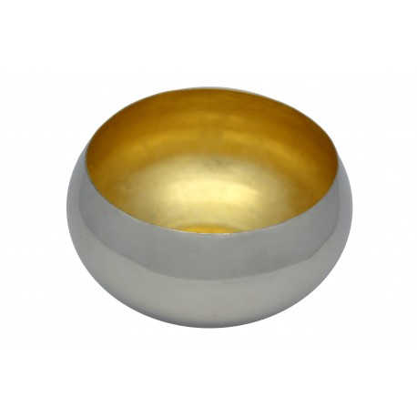 BOWL WITH GOLD INSIDE S
