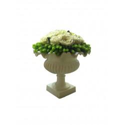 Букет белых роз в вазе VG (Италия)