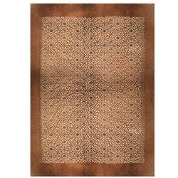 COWHIDE CARPET LAZERED (125x170)