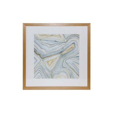 PICTURE FRAME: AGATE ABSTRACT I