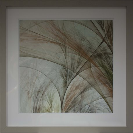 PICTURE FRAME: FRACTAL GRASS III