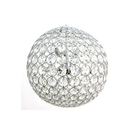 ROUNDELIER LAMP CRYSTAL