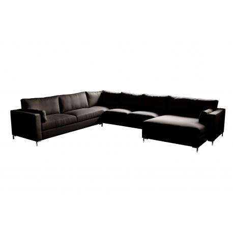 Belmondo U Couch With Barcelona Fabric
