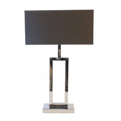 FLOORLAMP METAL WITH GREY SHADE