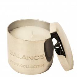 TEALIGHT ALUMINIUM PREFILLED WAX 'BALANCE'