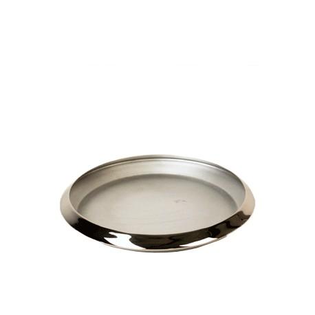Bowl flat aluminium L