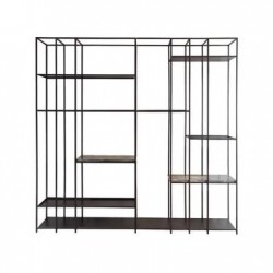 GENEVA RACK METAL FRAME & PORT LAURANT MARBLE