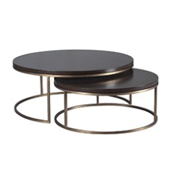 Kanta cocktail table, S/2