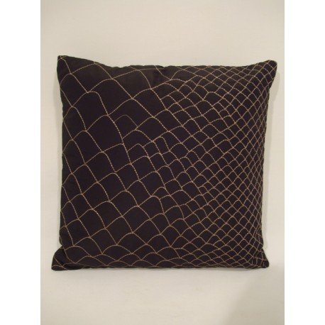 VALENTINA CUSHION WITH GOLDEN STITCHES