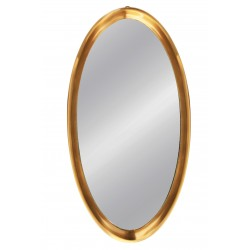 MIRROR OVAL ALUMINIUM SMALL