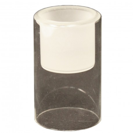 TEALIGHT WITH FROSTED TOP M