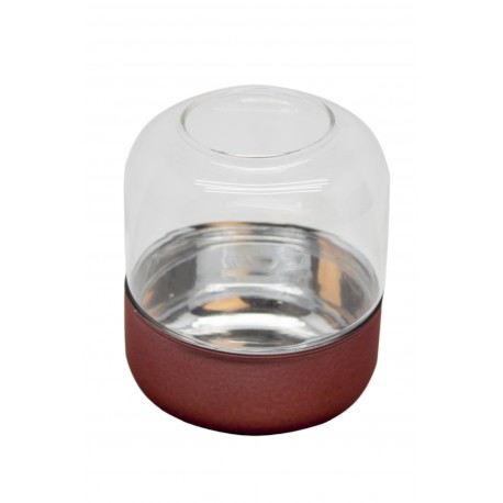 TEALIGHT GLASS COLORED BASE M